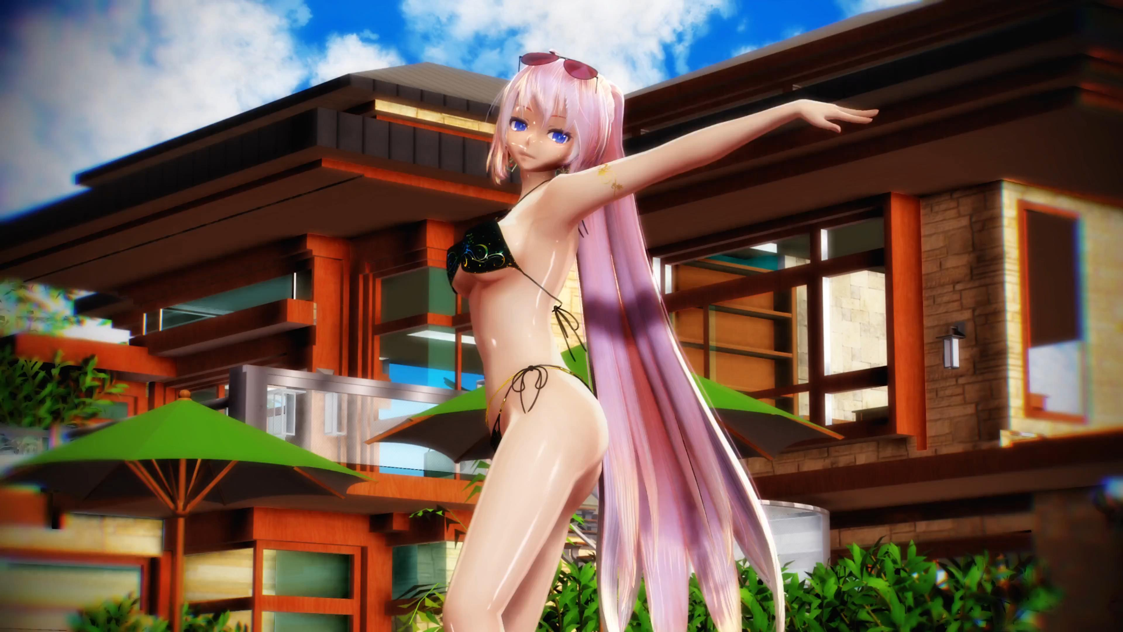 [MMD] Megurine Luka - Good Luck [4KUHD][CAM DL]_20170119160306.JPG